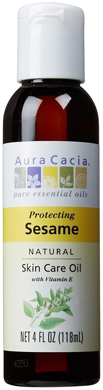 Aura Cacia sesame oil, 118ml 191198