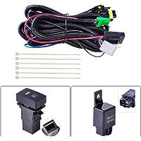 BonTime H11 Luz antiniebla Zócalo Cableado Cables Indicadores