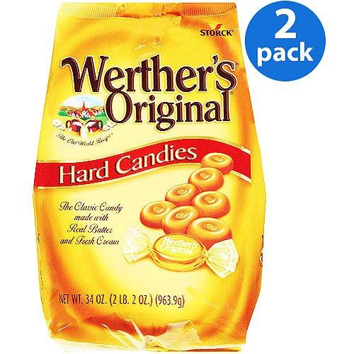 (Pack of 2) Werther's Original Gusset Bag, 34 ()