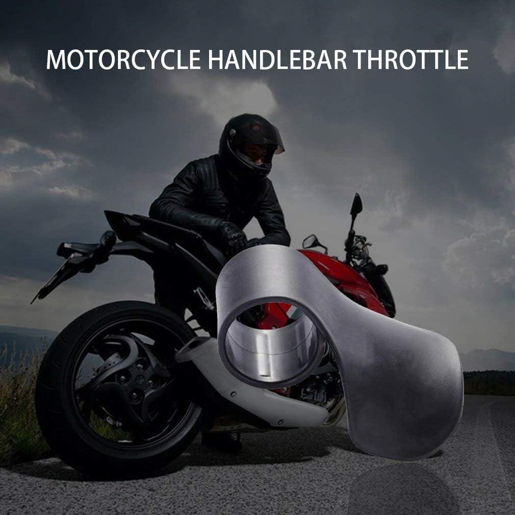 Leoboone Motorrad-Gasgriffe Gashebel-Handgelenk-Tempomat-Auflage