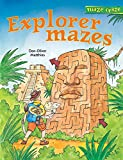 img - for Maze Craze: Explorer Mazes (Maze Craze Book) book / textbook / text book