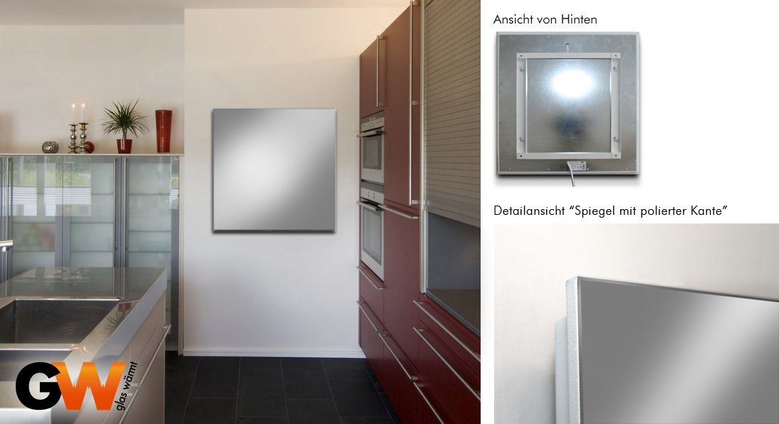 infrarotheizung spiegel vergleich infos der top hersteller. Black Bedroom Furniture Sets. Home Design Ideas