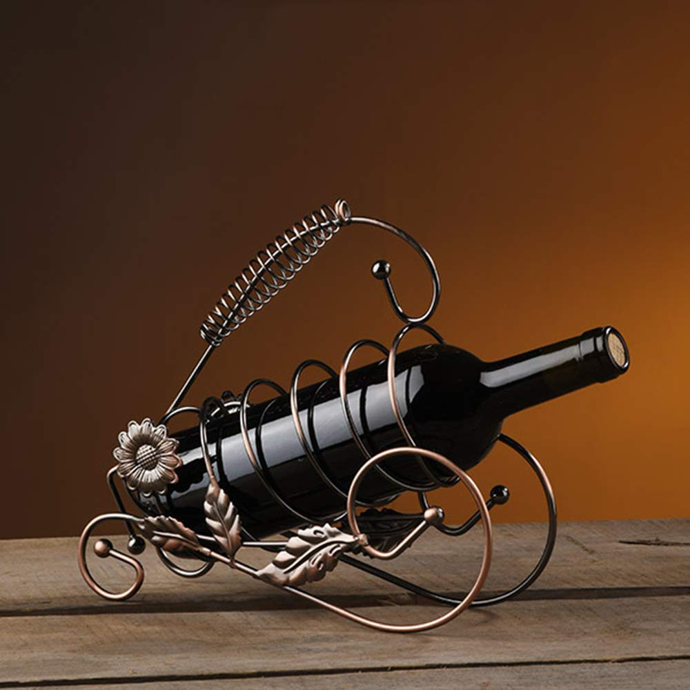HMonkey Botellero Vino Wine Rack Botellero, Diseño De Escultura De ...