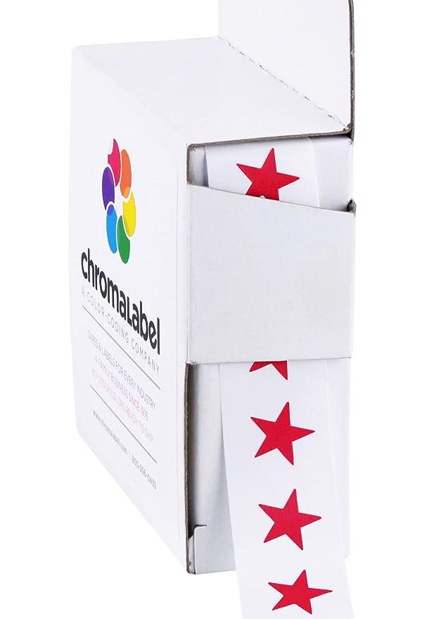 Amazon.com: ChromaLabel - Etiquetas con código de color (3/8 ...