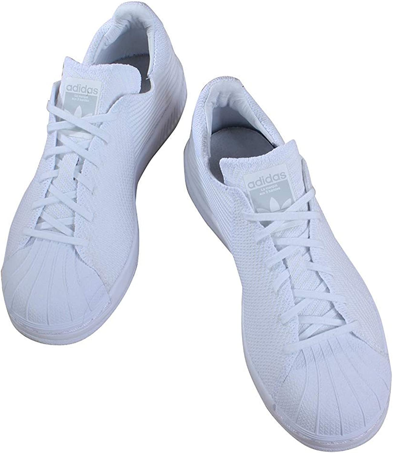 adidas BB0342 Grade School Superstar Bounce PK J White