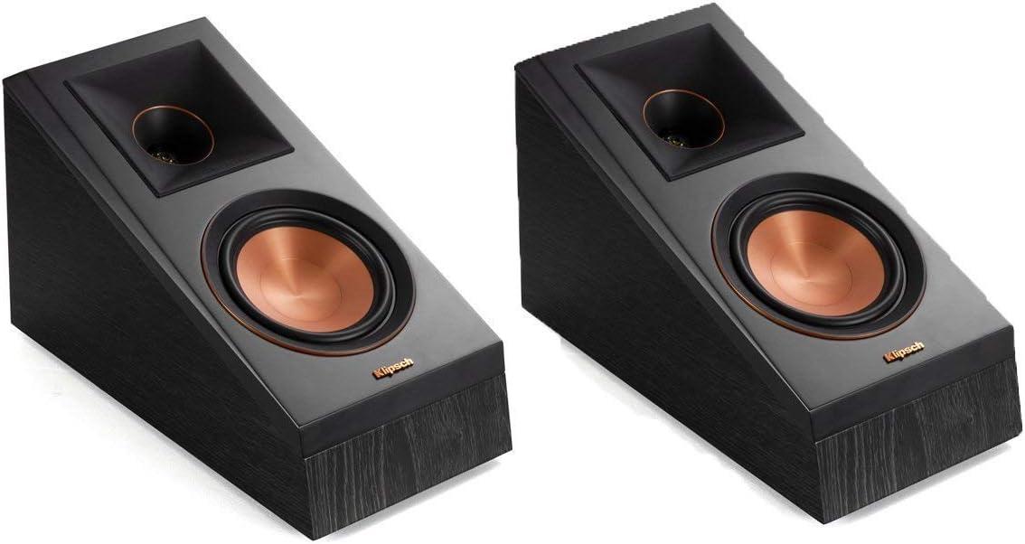 Klipsch RP-500SA Dolby Atmos Surround Sound Speakers Ebony