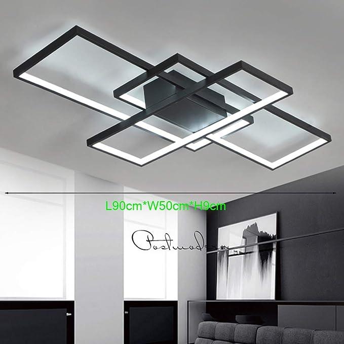 Lámpara de Techo Moderna LED Regulable Plafón para sala de ...