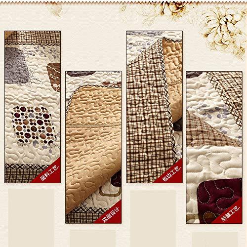 Decoracion de muebles, BaZhaHei, Sofá de terciopelo de algodón de invierno Funda de toalla antideslizante Reposabrazos casero 50X50 cm de Cojín de sofá ...