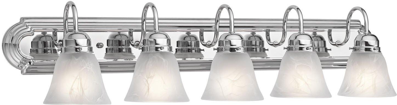 Kichler 5339CH Bath 5-Light, Chrome
