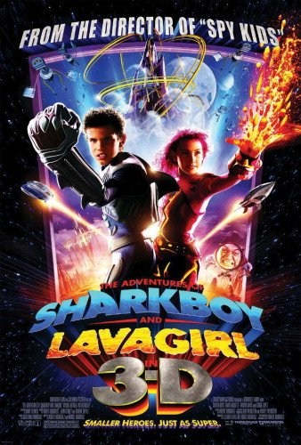 Adventures Of Shark Boy and Lava Girl In 3D Double Sided Regular Adventures Of