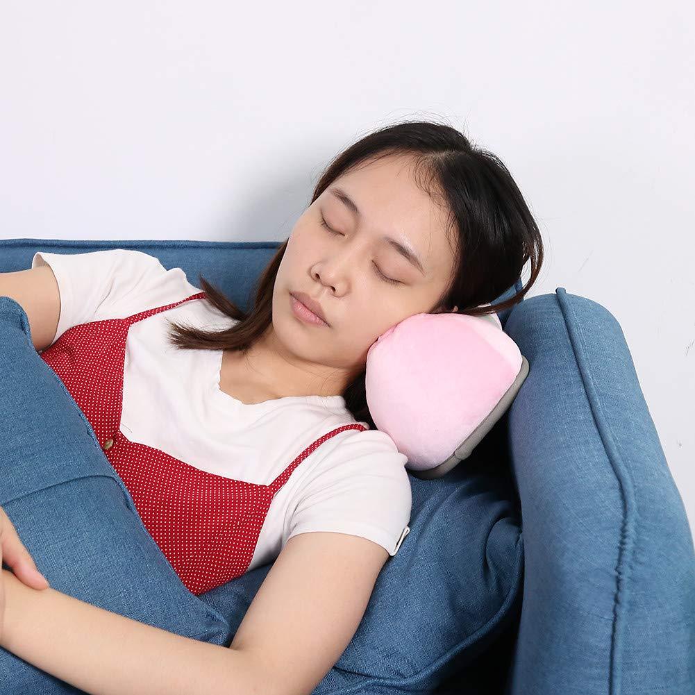 Almohada de viaje suave Cervical, almohada cervical ortopédica Hws, cojín cervical con función de apoyo para hombros, rigidez, cuello, columna ...