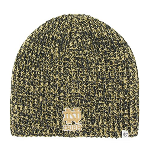 Notre Dame Gear (NCAA Notre Dame Fighting Irish Women's '47 Orca Knit Beanie, One Size, Navy)