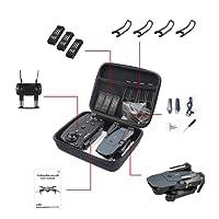 Zantec Für RC Drone E58 / JY018 / JY019 / GW58 / X6 / E010 / E010S / E013 / E50 Faltbarer Arm RC FPV Drone Handtasche Tragetasche Box Bag