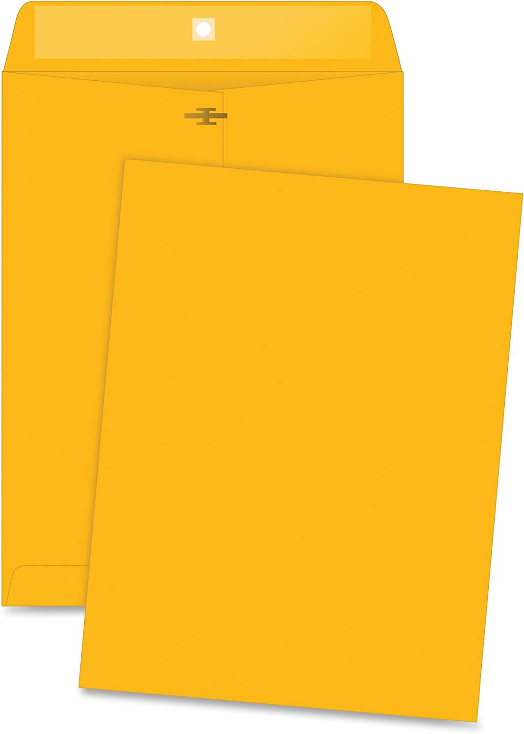36664 9-1//2x12-1//2 Business Source Clasp Envelopes Clasp Enevelope