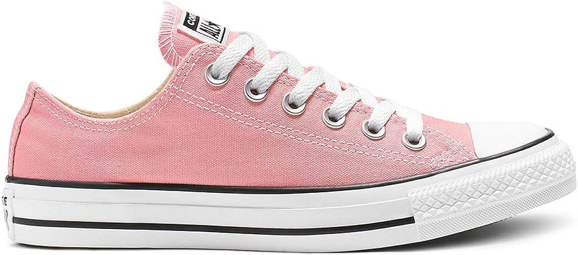 Converse CTAS OX Chuck Schuhe Textil Sneaker Coastal Pink