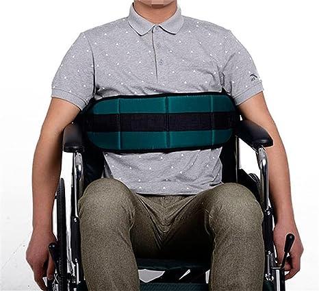 Cinturón ajustable para silla de ruedas de QEES, cinturón con arnés de seguridad acolchado y