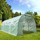 CASUN GARDEN 20'X10'X7' Large Outdoor Portable Greenhouse Walk-in Greenhouse