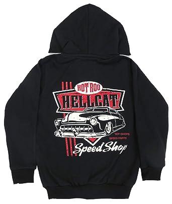 Hotrod Hellcat Kinder Kapuzenjacke Top Chops Rockabilly
