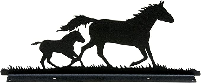 Horse Colt Mailbox Topper