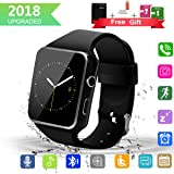 Smart Watch Upgrated Bluetooth Smartwatch with Camera Touchscreen,Smart Watches Unlocked Cell Phones with SIM