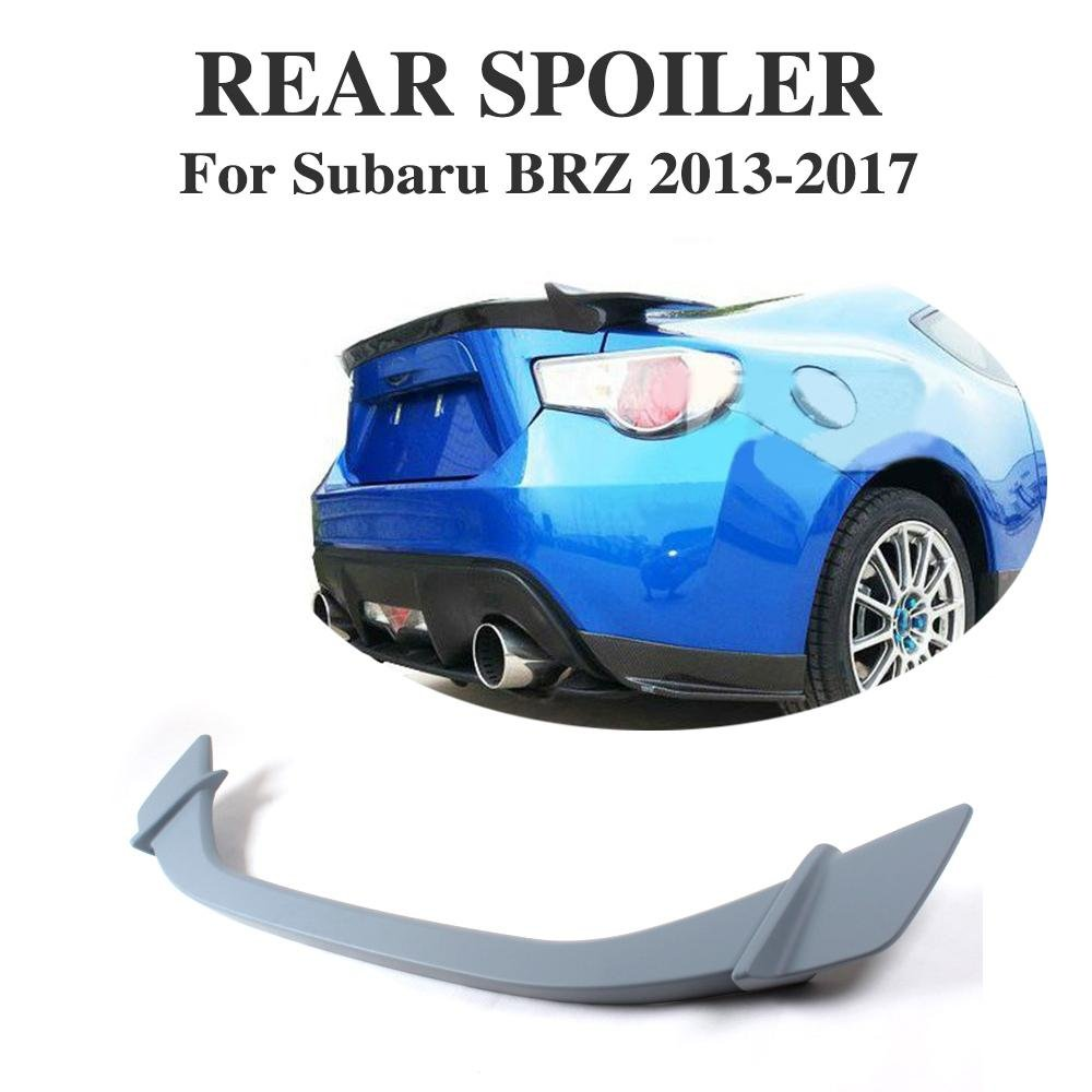cciyu Black ABS Rear Spoiler Wing Replacement fit for 2013 2014 2015 2016 2017 Subaru BRZ 2013 2014 2015 2016 Scion FR-S Stylish Trunk Spoiler Wing