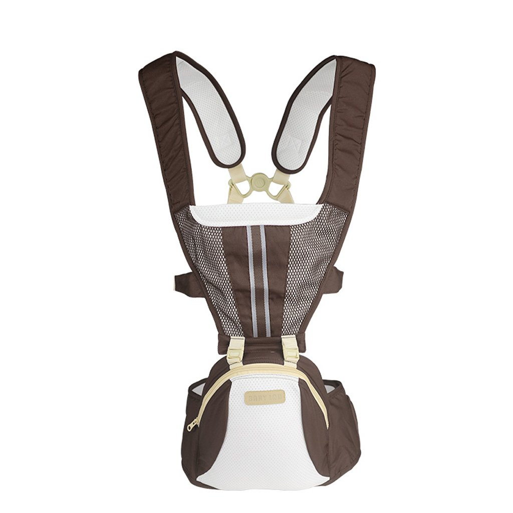 Flip Front 2 Back Baby Carriers, Soft Carrier for Summer Newborn Toddler HipSeat Infant Child Backpack Carrier Easy Comfortable Positions Extendable Aikelier