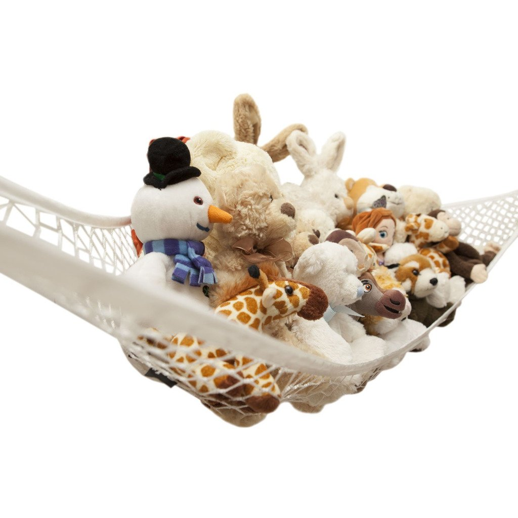 Vine Hammock for Soft Toy Baby Bedroom Tidy Kids Mesh Storage Net 31x24x24 Vine Trading Co. Ltd A160531SNW02206V