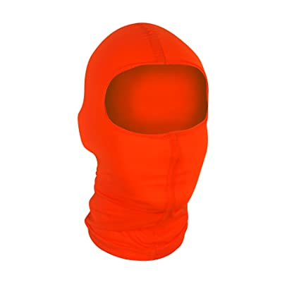 Zanheadgear Nylon Balaclava, One Size Fits Most, Orange: Clothing