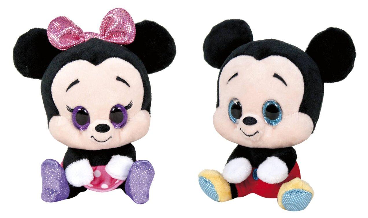 Disney Collection Famosa Softies-Peluche 15 cm Mickey & Minnie (760015551): Amazon.es: Juguetes y juegos