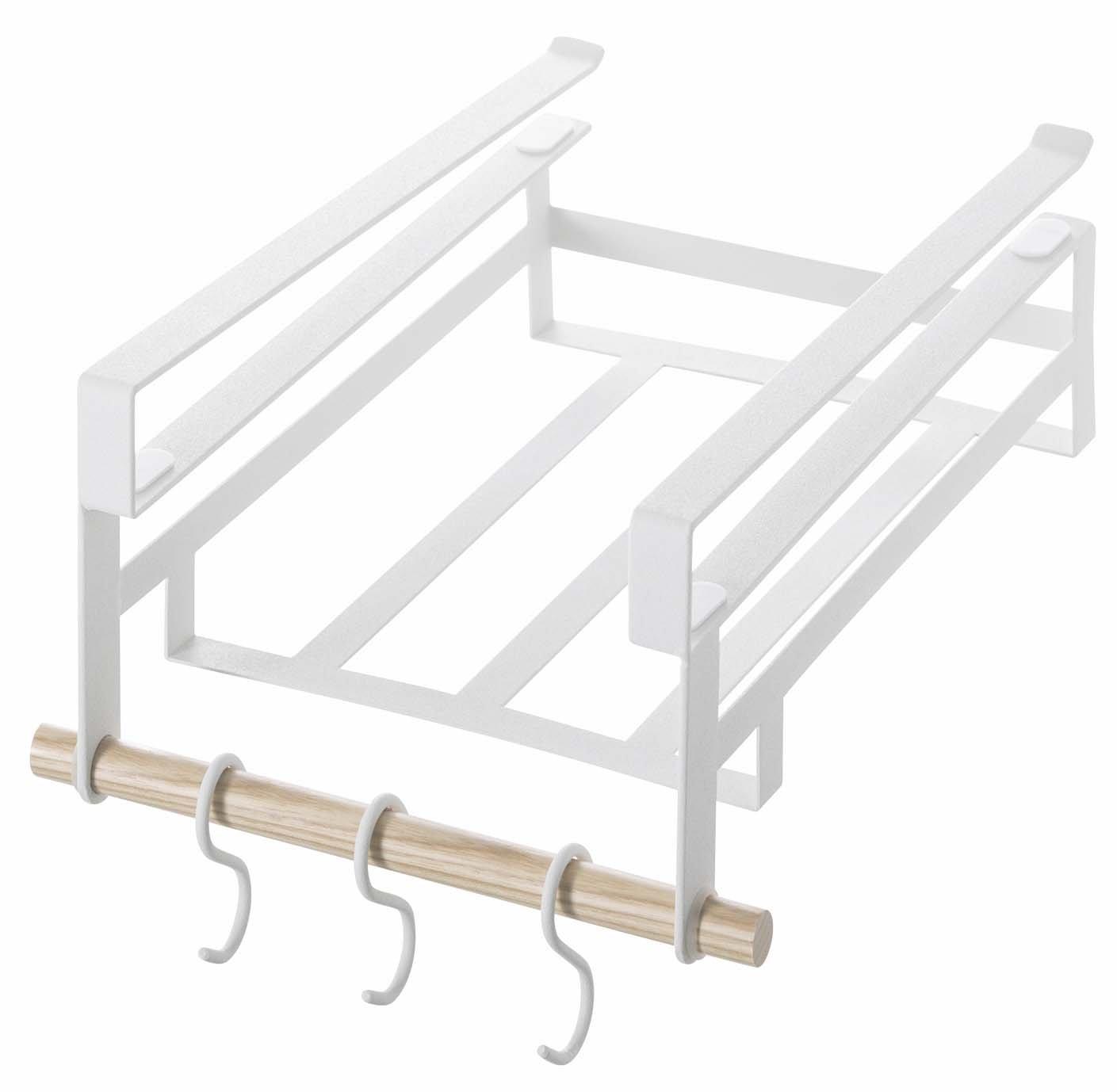 Amazon.com: Yamazaki Home Tosca Under Shelf Storage Rack, Small: Home U0026  Kitchen