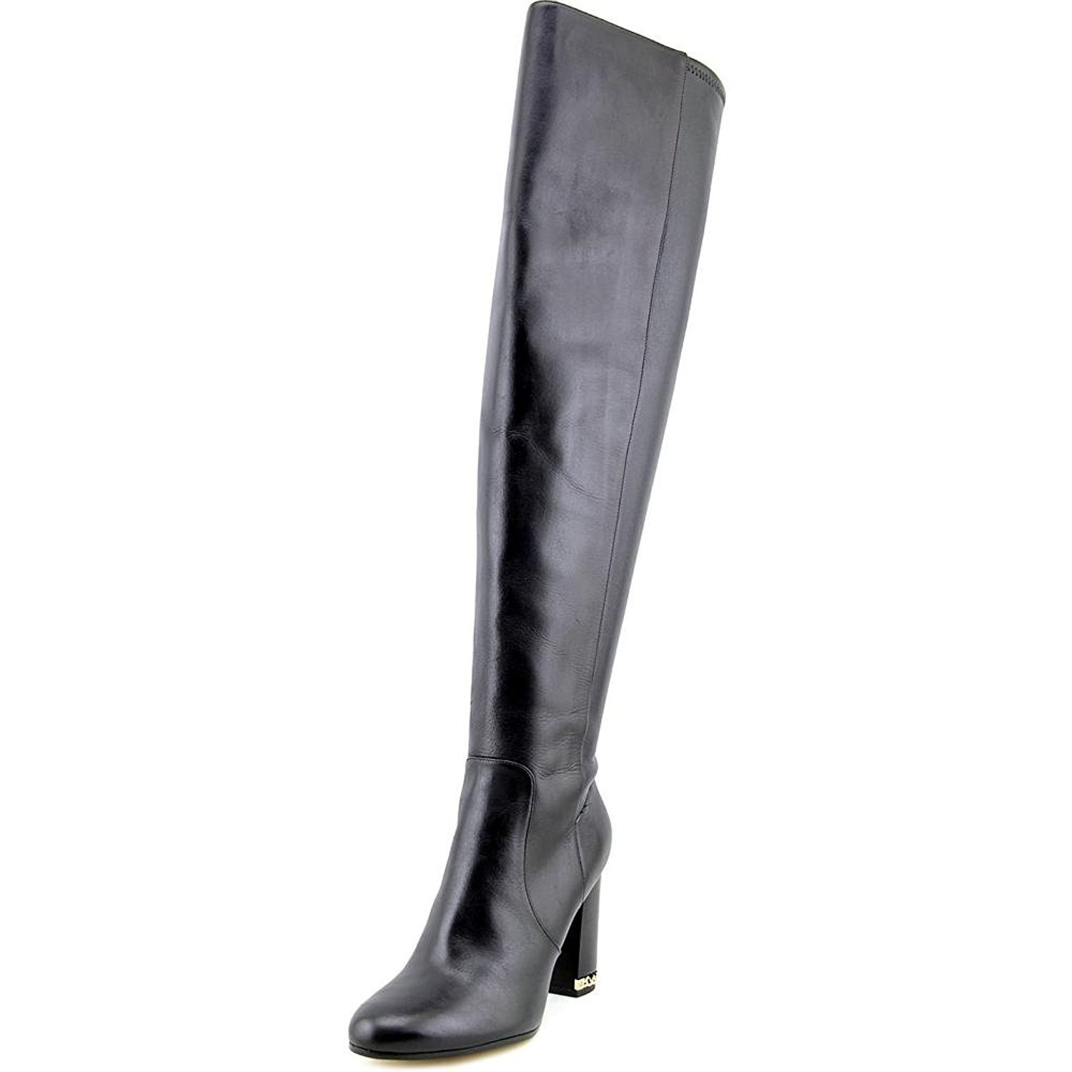 MICHAEL Michael Kors Sabrina Boot Women US 11 Black Over The Knee Boot