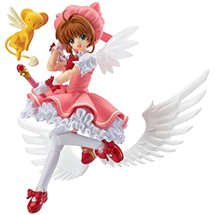 Anime Card Captor Cardcaptor Sakura Kinomotosakura Action Figure Toy Doll For Birthday Christmas Gifts Costume Props