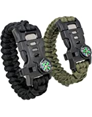 Gecko 5-in-1 Tactical Bracelet. Survival Bracelet with Paracord Rope 0267e2a4bae