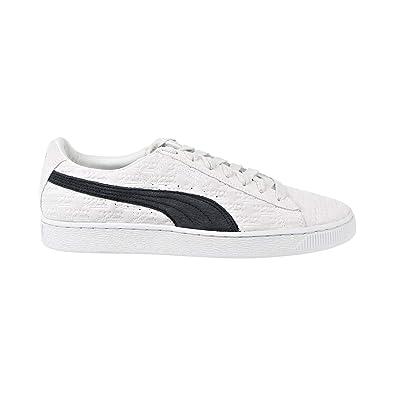PUMA Mens PUMA Suede Classic X PANINI PUMA White Black Size 7.5 0ce2ae106