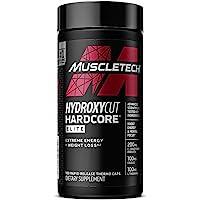 Weight Loss Pills for Women & Men | Hydroxycut Hardcore Elite | Weight Loss Supplement Pills | Energy Pills | Metabolism…