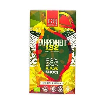 Amazon Georgia Ramon Fahrenheit 132 Raw Chocolate 82