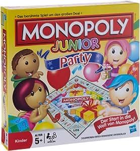 Hasbro Monopoly Junior - Juego de tablero (Multi)