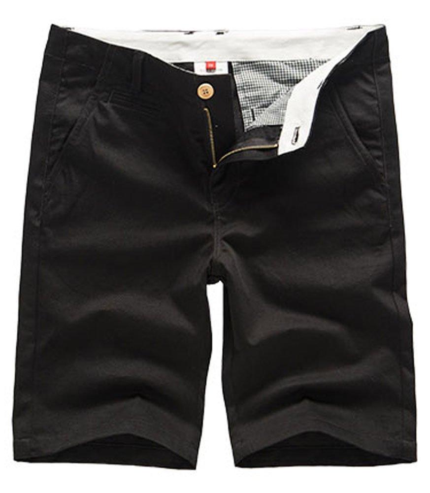 Plaid&Plain SHORTS メンズ B01H76DDXK 33|ブラック ブラック 33