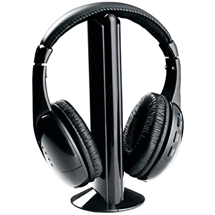 Yunchenghe 5 in 1 Hi-Fi Wireless Headset Radio FM Cuffie Online Chat  Auricolare per 939453f7e366