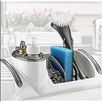 Hadengo Evye Düzenleyici Bulaşık Süngerlik Mutfak Deterjanlık Deterjan Kabı Sünger Kabı Bulaşıklık Mutfak Aksesuarı