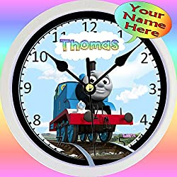 Personalized Thomas The Tank Wall Clock