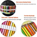 Coideal Colored Canvas Pencils Wrap Roll Up Case Holder for Artist Travel Drawing 72 Slots