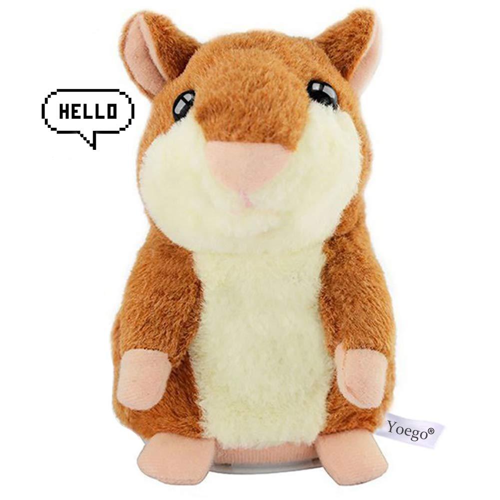 Yoego Cute Mimicry Pet Talking Hamster