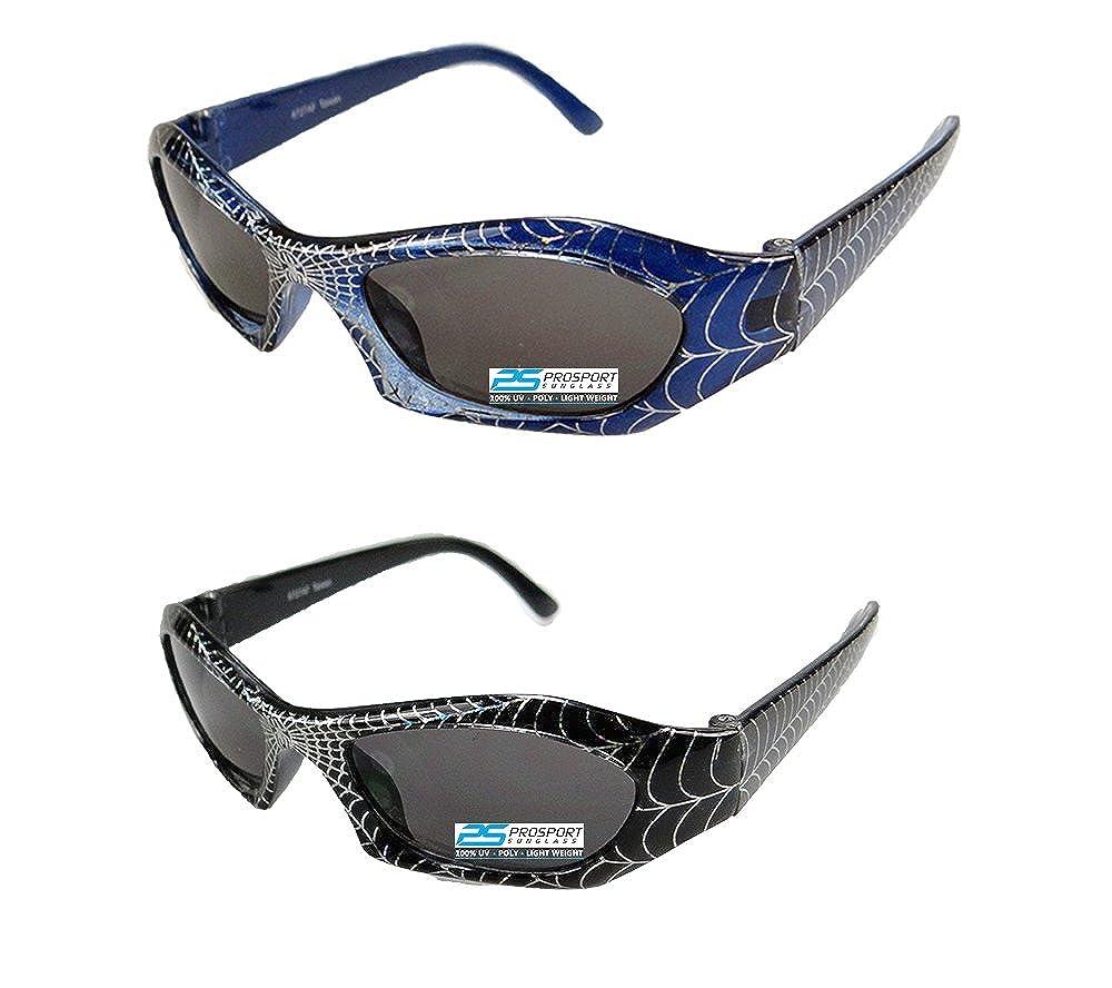 2 pairs of Spiderman Sunglasses for Boys Spider-L-REDBLU-BLURED-2xCombo