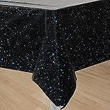 Tischdecke * WELTRAUM / SPACE BLAST * für Kindergeburtstag und Mottoparty // Kinder Geburtstag Party Plastic Table Cover All Apollo Alien Sterne