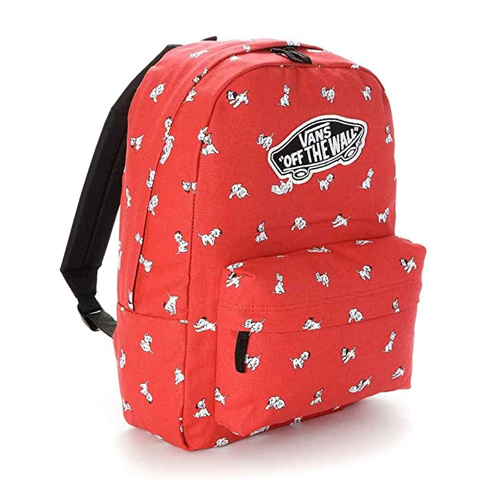 1648cdd61c VANS - Vans Women s Backpack - Dalmatian - Red - One Size by Vans   Amazon.co.uk  Sports   Outdoors