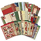 Hunkydory Crafts Christmas Classics Luxury Topper Collection Christmas Card Kit