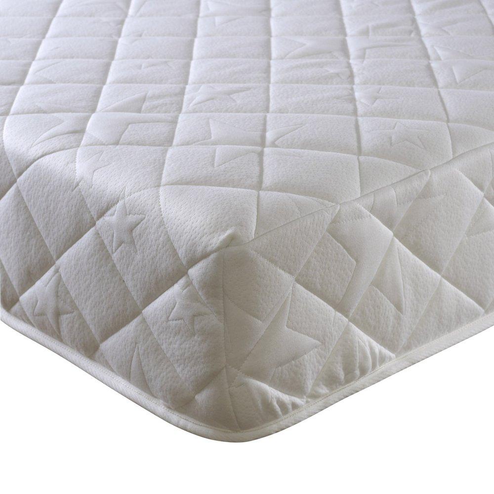 Happy Beds Komfort 3000Orthopädische Taschenfederkernmatratze Reflex-Schaumstoff-Matratze, weiß, verschiedene Größen, Weiß, 180 x 200 cm