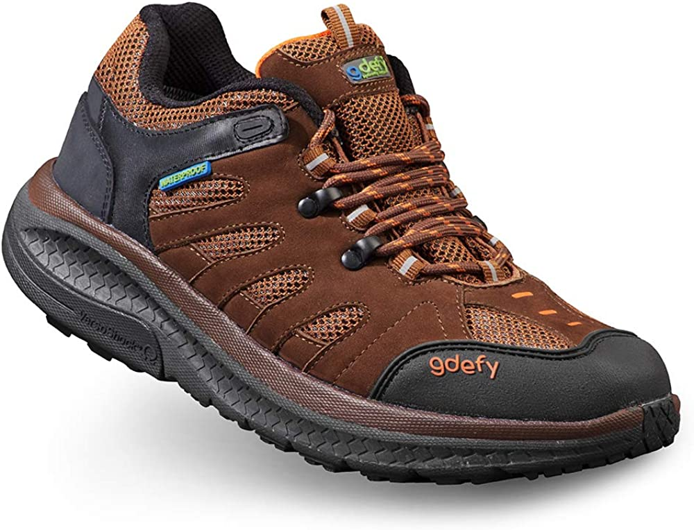 Womens G-Defy Stride Lane Low Top Clinically Proven Pain Relief Hiking Shoes
