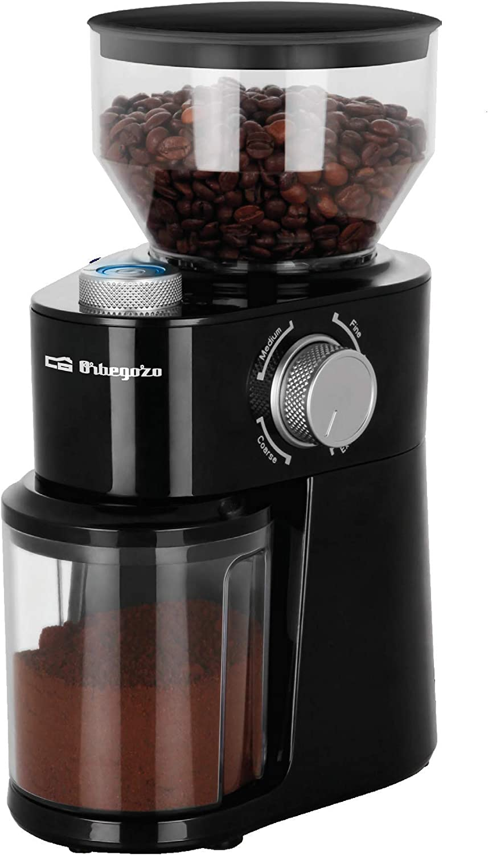 ORBEGOZO 17408 Molinillo de café MO 3400, Negro: Orbegozo: Amazon ...
